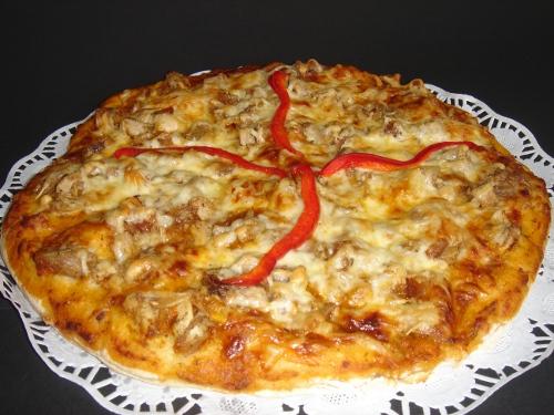 Pizza de leitão assada